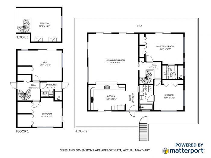 AES 3389 Floor Plan