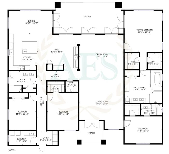 Abaco Estate Services Listing #3251 Floor Plan
