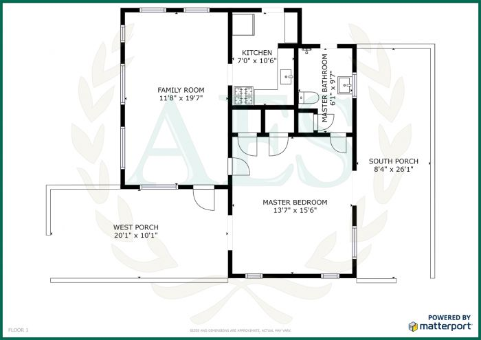 AES 3523 Floorplan - Main House
