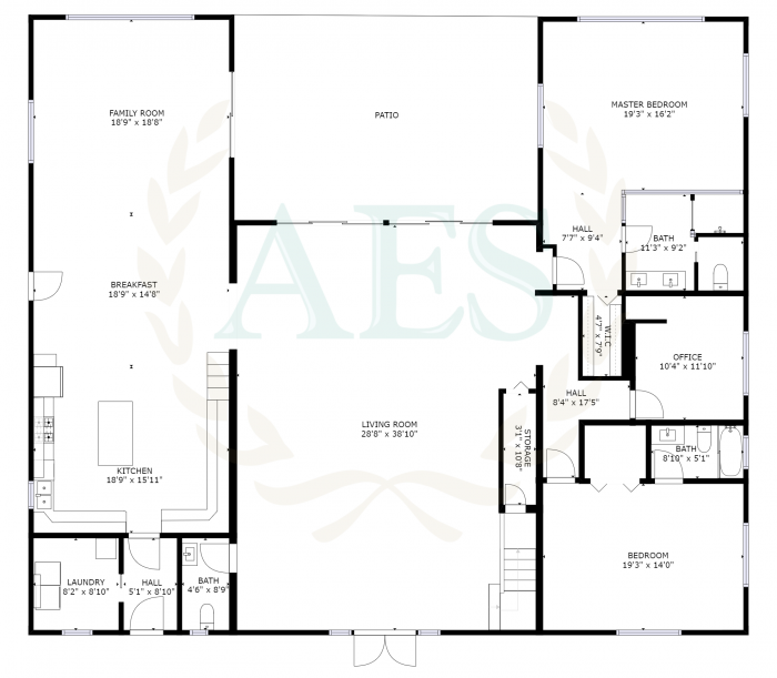 Abaco Estate Services Listing #2784 Floor Plan