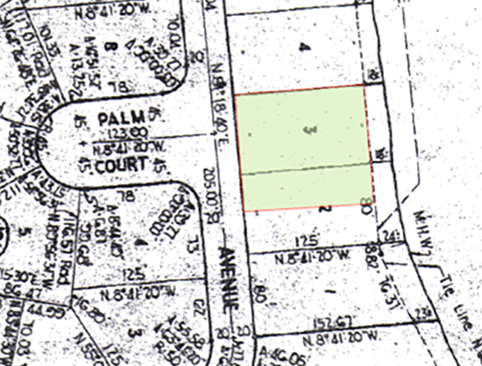 PlotPlanLots2B3Block195Cropped