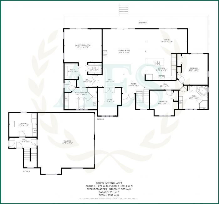 AES 3436 Floor Plan